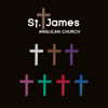 Each of the crosses represents one of the seasons of the Anglican Church and are interchangeable within the logo.
