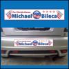 Campaign sticker.