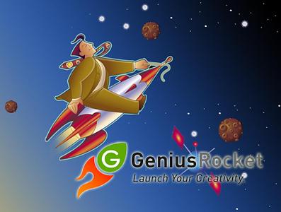 Ad created for Genius Rocket