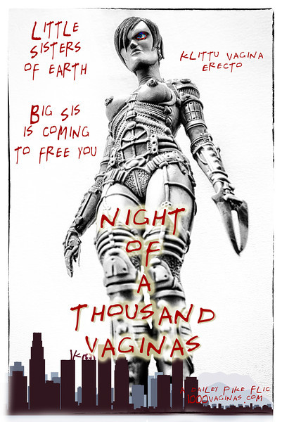 Night Of A Thousand Vaginas movie poster key art