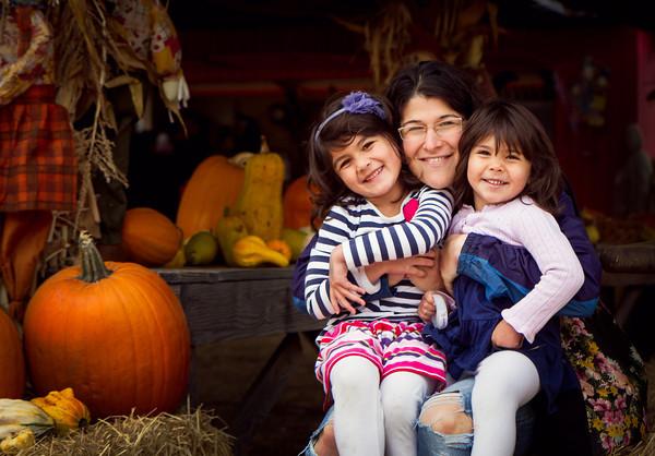 Three Little Pumpkins - Nicasio, CA