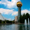 Day 355 -The symbol of Knoxville from the 1980 World's Fair.  One of my favorite Simpsons episodes. -AUGUST 26