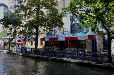 Day 328 -Unlike the Alamo the Riverwalk in San Antonio exceeded my expectations.  It was a delightful place that was very relaxing. -JULY 30