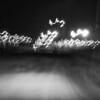 """Day 195 -This one is titled, """"ride back to my clu.""""  I just used a 3 sec exposure set it on the Ranger as I drove the 5mph speed limit.  I can be abstract.  It was either this or the bathroom.  It's coming sooner or later. -MARCH 19."""