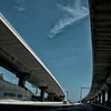 Day 327 -Driving into San Anonio and there are these huge overpasses.  Like everything in Texas they are really big. -JULY 29