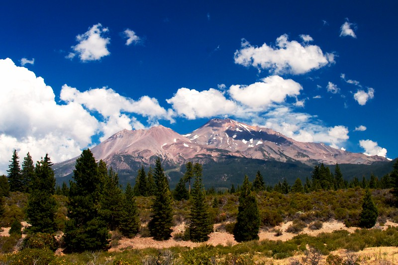Day 338 -Had a beautiful drive from San Francisco to Portland with Mount Shasta along the way.  I can see why so many people like living in Northern Calif. -AUGUST 9