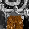 Day 149 -So I'm having ice cream with Matthew Lillard and Randy Johnson, and Matt says his luggage got stolen at the airport on his first USO tour.  He had nothing really, so I thought I would help an actor down on his luck ;-)  Robert Patrick had to get in the photo too, and let him since he scared the bejesus out of me.  It wouldn't be a fun daily photo project without some famous people right? -FEBRUARY 1