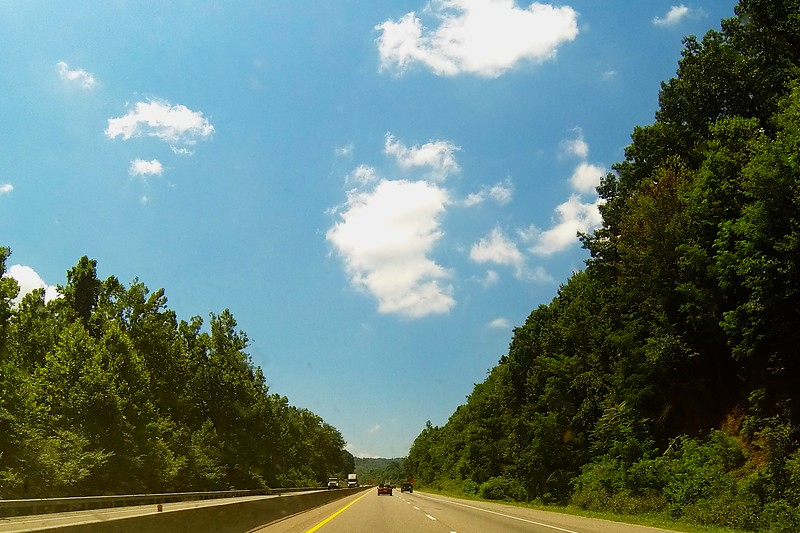 Day 323 -Had the gopro running during my drive through Kentucky and TN.  It was the perfect day for a drive. -JULY 25