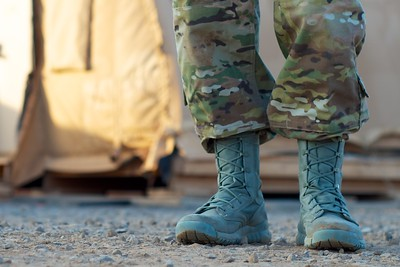 "Day 121 -As we say in the business.  ""boots on the ground.""  -JANUARY 4"
