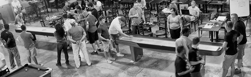 Day 174 -Uploading live from the Camp Lemonnier Shuffleboard Championships.  The tension is thick as 13 teams battle through blood, sweat, and tears to taste the sweet nectar of victory.  Joh LaDue and Caleb Pierce have made it passed the first round as theY crushed their opponents by 11 points.  As for me I picked the only  girl as my partner… we lost. -FEBRUARY 26