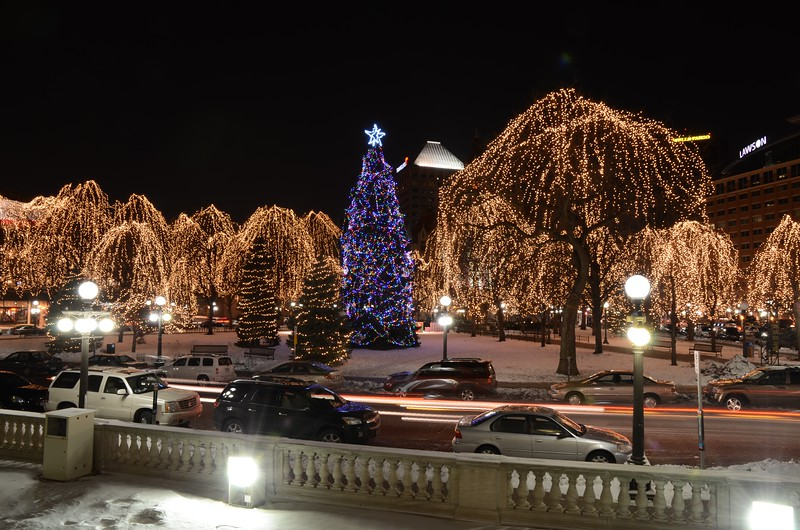 Day 108 -Downtown St Paul looks great this time of year.  All that's missing is the snow falling.  -DECEMBER 22