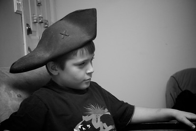 """Day 014 -Well it was """"Talk Like A Pirate Day,"""" so I dusted off the ole pirate hat.  I borrowed a Santiago and celebrated.  This one goes out to all my Grenada friends. -SEPTEMBER 19"""