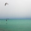 Day 312 -A kite surfer out was taking advantage of the wind and was getting some serious air.  Pretty cool. -JULY 14