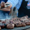 Day 151 -Everyone is getting ready to for the big game and the base is no exception.  A company came with an all volunteers and 3,000 filets and grilled us dinner.  It was very good and there is nothing like some TX BBQ.  -FEBRUARY 3