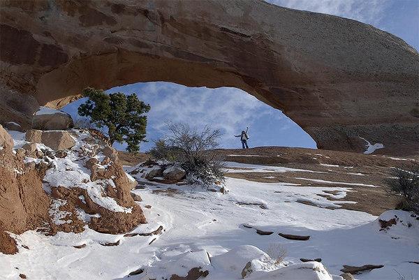 Under Wilson Arch