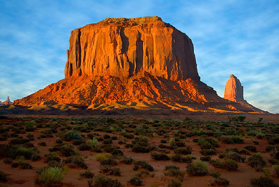 Monument Valley, Merrick Butte, September 2008