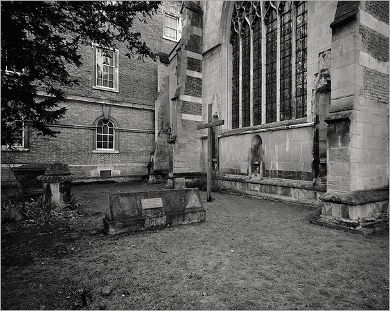 Alcove in Church, Cambridge UK