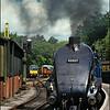 Sir Nigel Gresley engine at Pickering