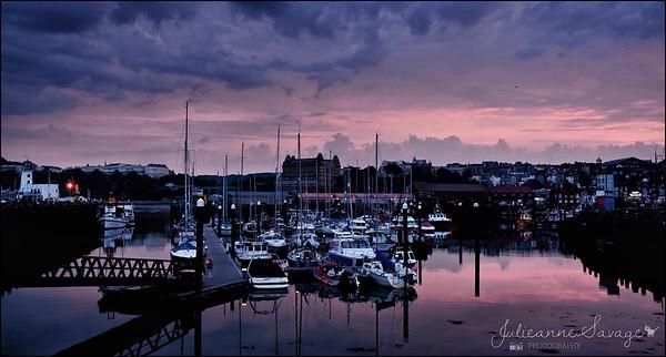 Scarborough evening