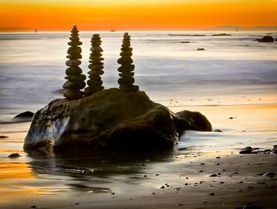 Rock Art Sunset