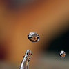 Droplets of interest.