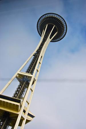 Space Needle - Seattle, Washington- September 2009