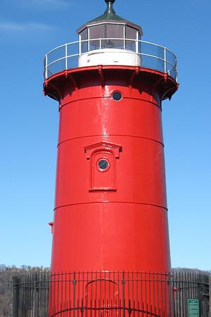 Little Red Lighthouse, Upper Manhattan, February 2008 (c) Daniel Yoffee Photography