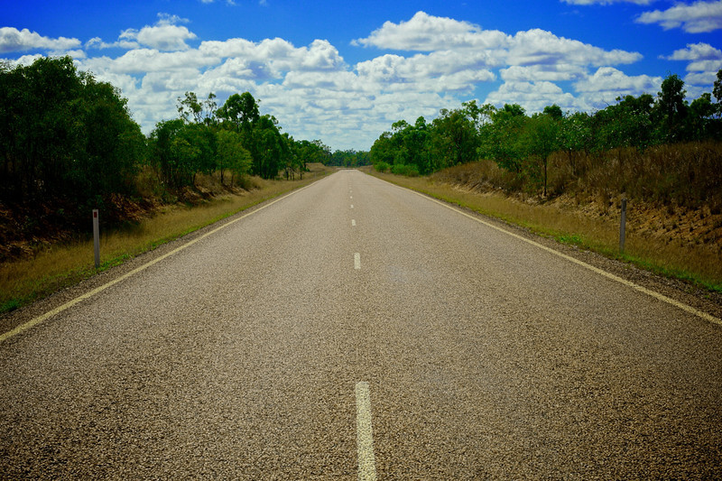 The Road to Darymple National Park from Charters Towers