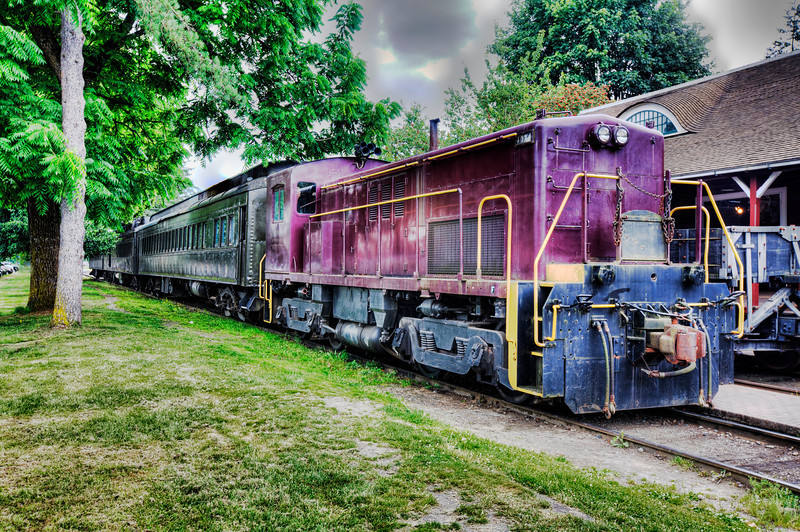 Antique Trains in Snoqualmie<br /> In the city of Snoqualmie is a train depot called the Northwest Railway Museum. Quite a find as most travelers head to the Snoqualmie Falls just up the road a piece. Situated just 25 miles east of Seattle, it makes for a great day trip. We headed out from Seattle in search of all the back roads we could find to get us there and back. We left in the morning and pretty much made it a day trip. Lots of historical towns, antique shops, and countryside to explore.