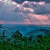 Allegheny Mountains in West Virginia