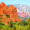 """Sedona Red Rock""-Sedona is considered by many as one of the top ten most desirable places to live in the U.S. If you have ever been there you could see why. Great weather, a beautiful scenic wonderland.<br /> <br /> We are at present in the Lake Tahoe area photographing some of the most exciting spots on the lake. Emerald Bay is our planned destination today. I will put down some photos of this trip soon."