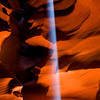 Light beams in Antelope Canyon, Page, Az