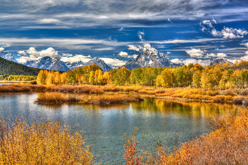 Oxbow Bend-Grand Tetons National Park Wyoming