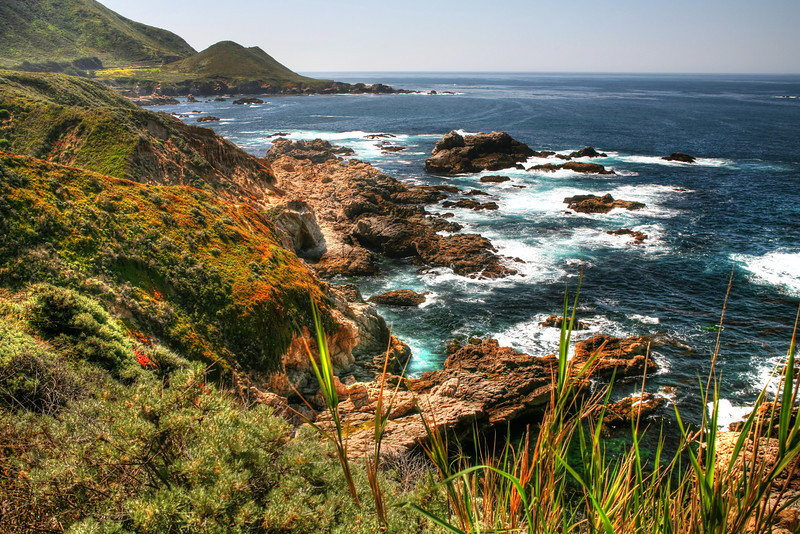 """""""Pacific Coast, California""""-Can you guess? I thought I would leave this one up to you. If you have kept up with my blog you may notice I scramble up the destinations I've been to, just to make it more interesting. In my """"Gallery"""" at the top of the page you can see a daily growing list of all the places I've been. You might be able to get a hint from there on where this is at. By the way the photos in the gallery are for sale and can be purchased from the """"buy it"""" button. I'll post on monday where this photo was taken. Good Luck!. One hint-"""