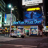 New York Police Department in Times Square, New York, NY
