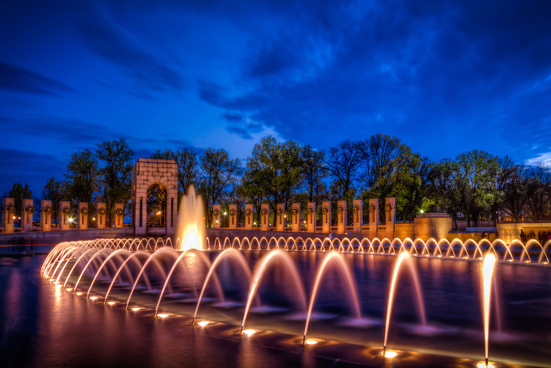 World War II Memorial Fountain