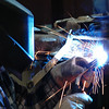 """<div align=""""center""""> <h3>Mig Welding</h3> <br /> </div> Rodney was fixing his Dad's broken down lawnmower deck. He's a tool and die worker. Most of time he works with CNC machines but he also does all kinds of welding... actually he does all kinds of lots of stuff :o)"""