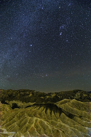 Zabriskie Point Night Sky