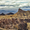 Panamint Mountains from Zabriskie Point