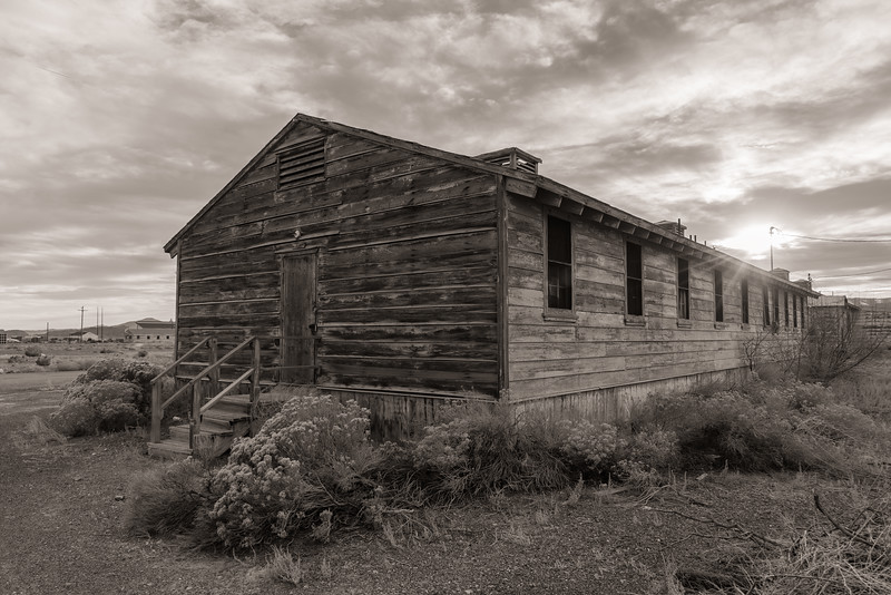 Abandoned building, Wendover Air Field, Wendover, Utah