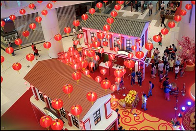 CNY decorations at NU Sentral