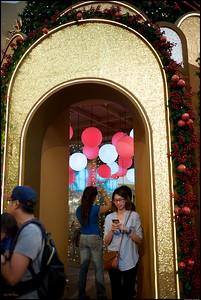 Xmas Decorations around Pavilion Kuala Lumpur