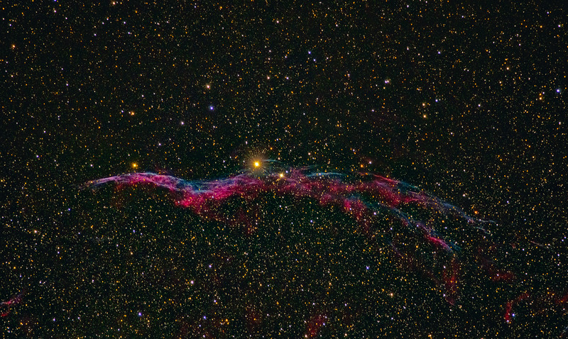 NGC 6960 Western Veil Nebula 10172020