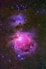 Running Man and Orion Nebulae NGC 12975 NGC 1977 M42_