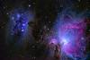 Running Man and Orion Nebulae 10242019