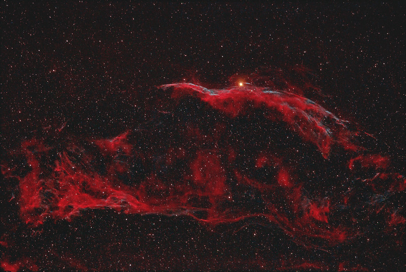 NGC 6960 Western Veil and Pickerings Triangle Nebula 07032021