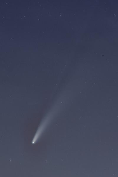 165mm 17sec f4 iso1000 comet processing