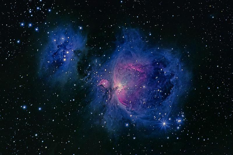 Orion Nebula and Running Mann 11032018