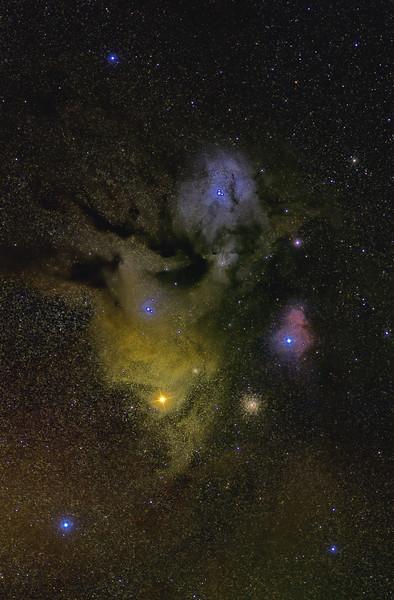 IC 4603 Rho Ophiuchi Nebula 06122020 135mm d500