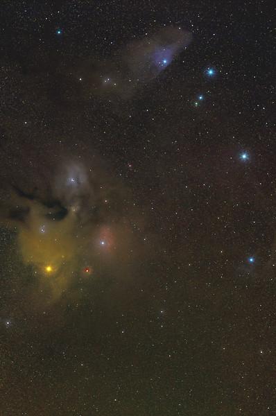 IC4603 and IC4592 Rho Ophuichi and Blue Horsehead Nebulae 05132021